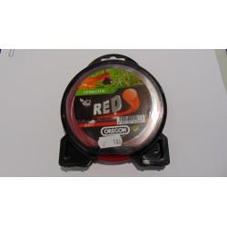 Żyłka 2,0mmx15m czerwona, Oregon