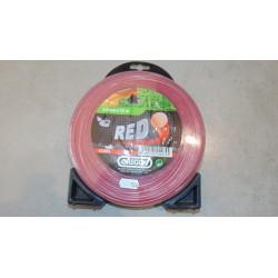 Żyłka 3,0mmx53m czerwona, Oregon