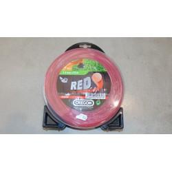 Żyłka 2,4mmx83m czerwona, Oregon